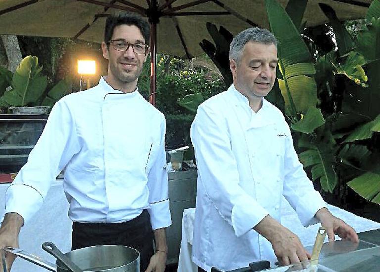 Immagine Cagliari | Andrea Canton a ''Le Notti dei Grandi Chef''