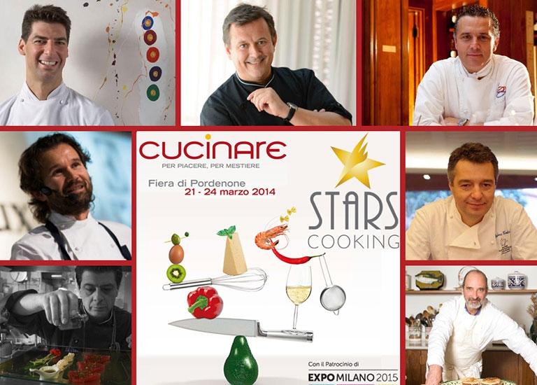 Immagine Cucinare 2014 con la partecipazione di Andrea Canton