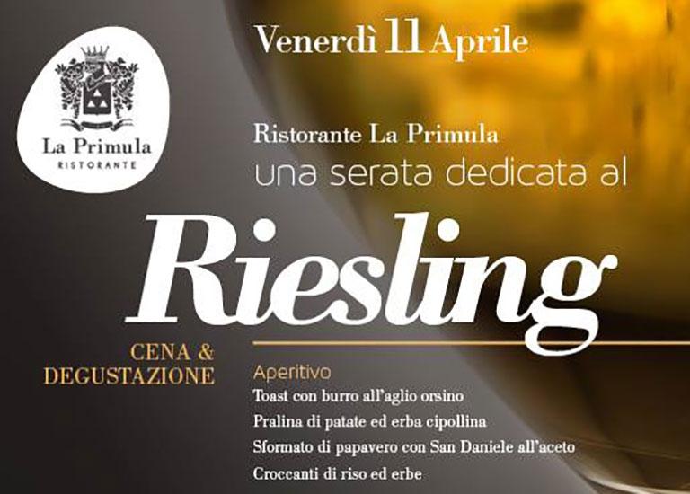 Immagine Una serata dedicata al Riesling