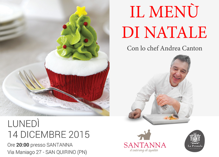 News Andrea Canton - Il Menù di Natale con Andrea Canton