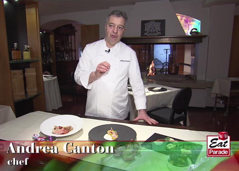 News Andrea Canton - Andrea Canton a Tg2 Eat Parade