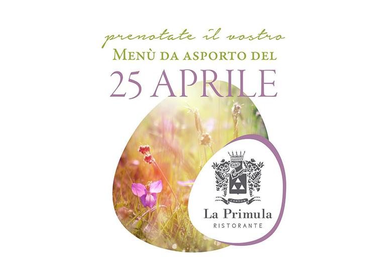 Immagine MENÚ del 25 Aprile