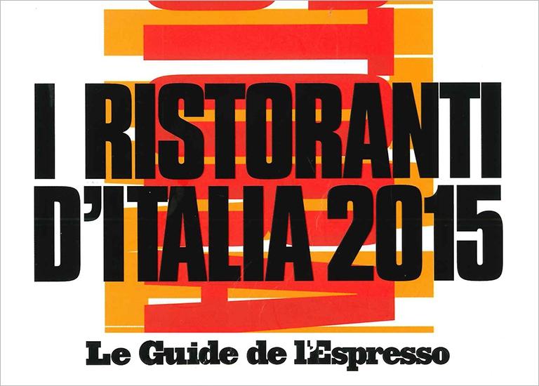 Immagine Press I Ristoranti d'Italia 2015 - L'Espresso