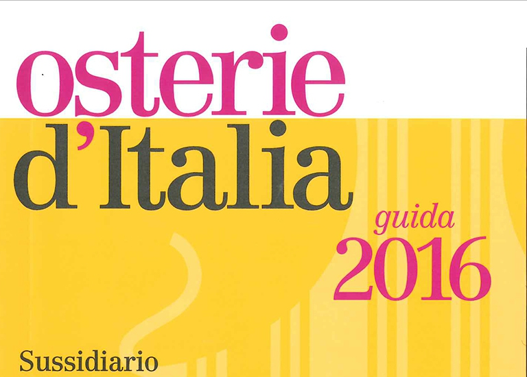 Immagine Press Osterie d'Italia 2016