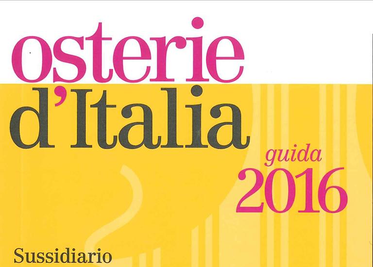 Immagine Press Osterie d'Italia 2016