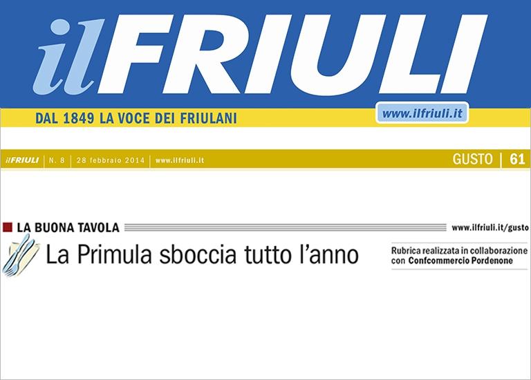 Immagine Press Il Friuli - 28 Febbraio 2014