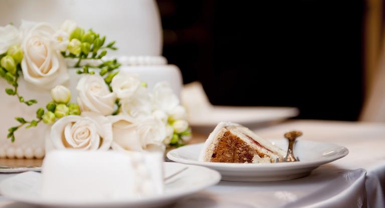 Torta nuziale Catering la Primula