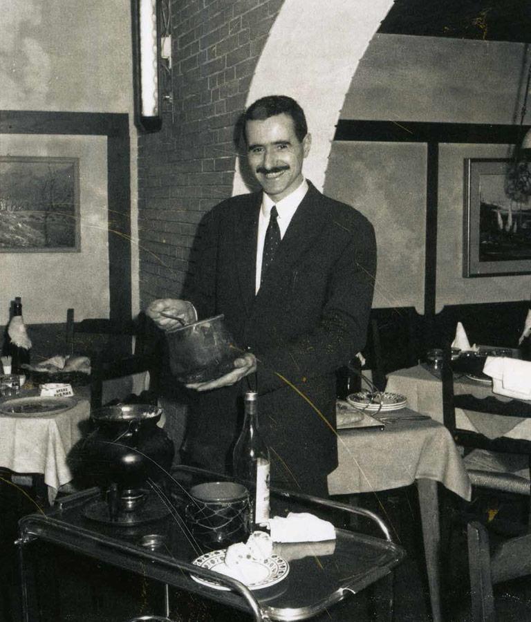 Roberto Canton e il caffè alla Nerone