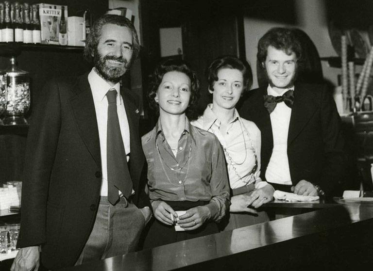 Famiglia Canton nel 1974
